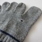 【ショック!】買ったばかりのユニクロ 5本指ソックス 2足目にも穴があいた!