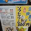 道の駅福良のびわとバニラのミックスソフトクリームを食べてみた!