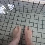 【道の駅福良】足湯・うずの湯に入ってみた!