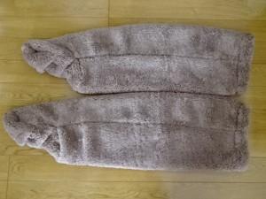 極暖 足が出せるロングカバー (3)