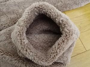 極暖 足が出せるロングカバー (4)