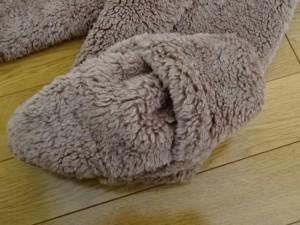 極暖 足が出せるロングカバー (5)