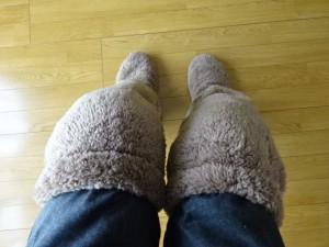 極暖 足が出せるロングカバー (6)