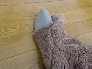 極暖 足が出せるロングカバー (9)