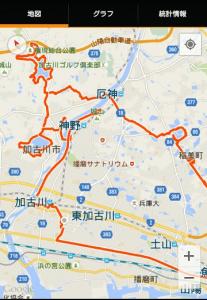 加古川ポタリング 地図