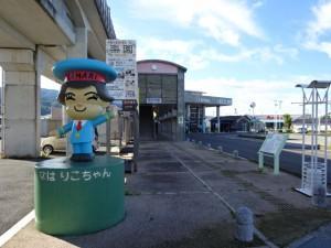 奈半利駅から住吉荘 (1)
