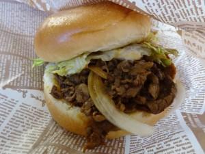 ハンバーガーと牛丼の店 淡be- (6)