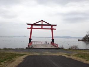 ビワイチ(琵琶湖一周)2日目 (21)