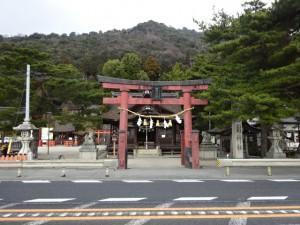 琵琶湖 白鬚神社 (1)