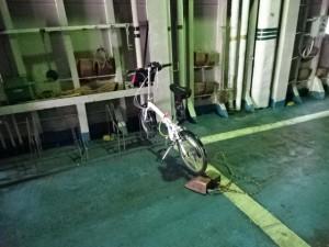 自転車でジャンボフェリー (2)